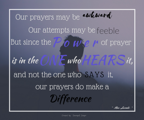 Prayer Quote Image