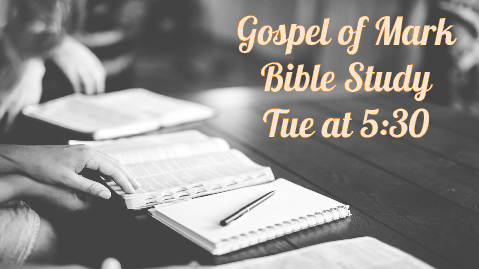 Gospel of Mark - Bible Study